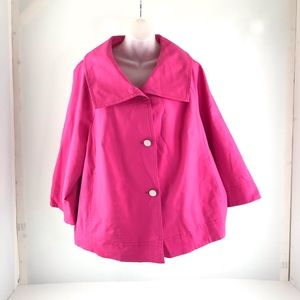 Rafaella Women's Hot Pink Blazer